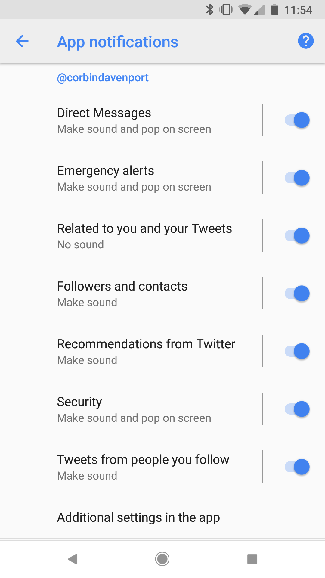 in app notification android example