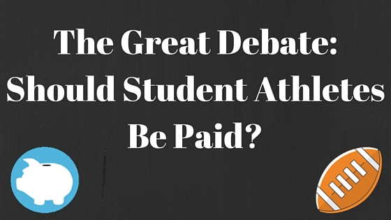 should college athletes be paid essay example