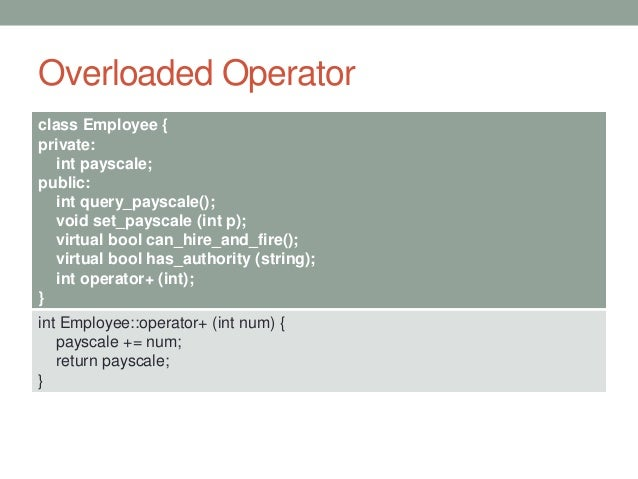 example of using overloaded dereference operator