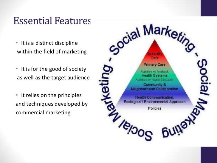 example of social marketing approach