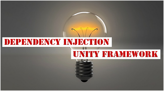 unity dependency injection c example