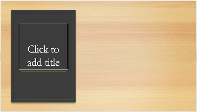 example of narration on powerpoint