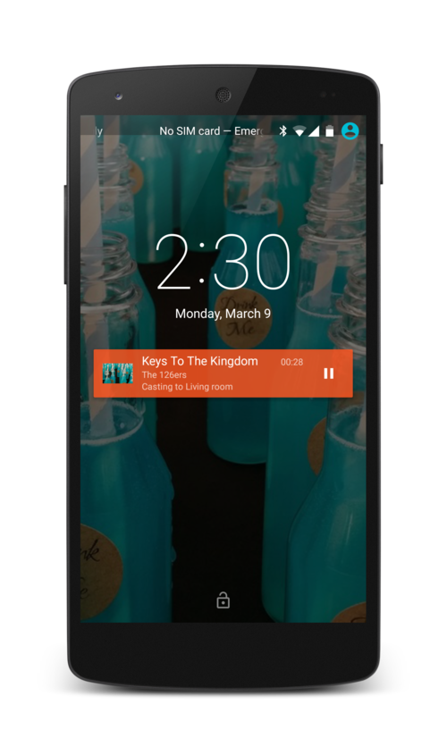 android background service notification example