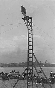 a diving board is an example of