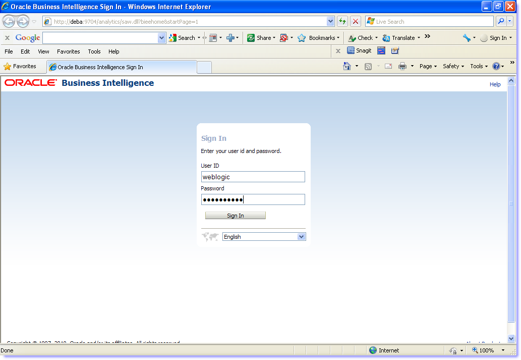 oracle by example obiee 11g