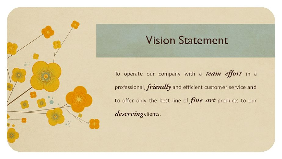 example of mission and vision of a business
