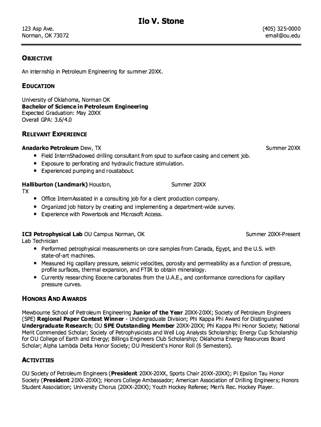 example of professional resume forums