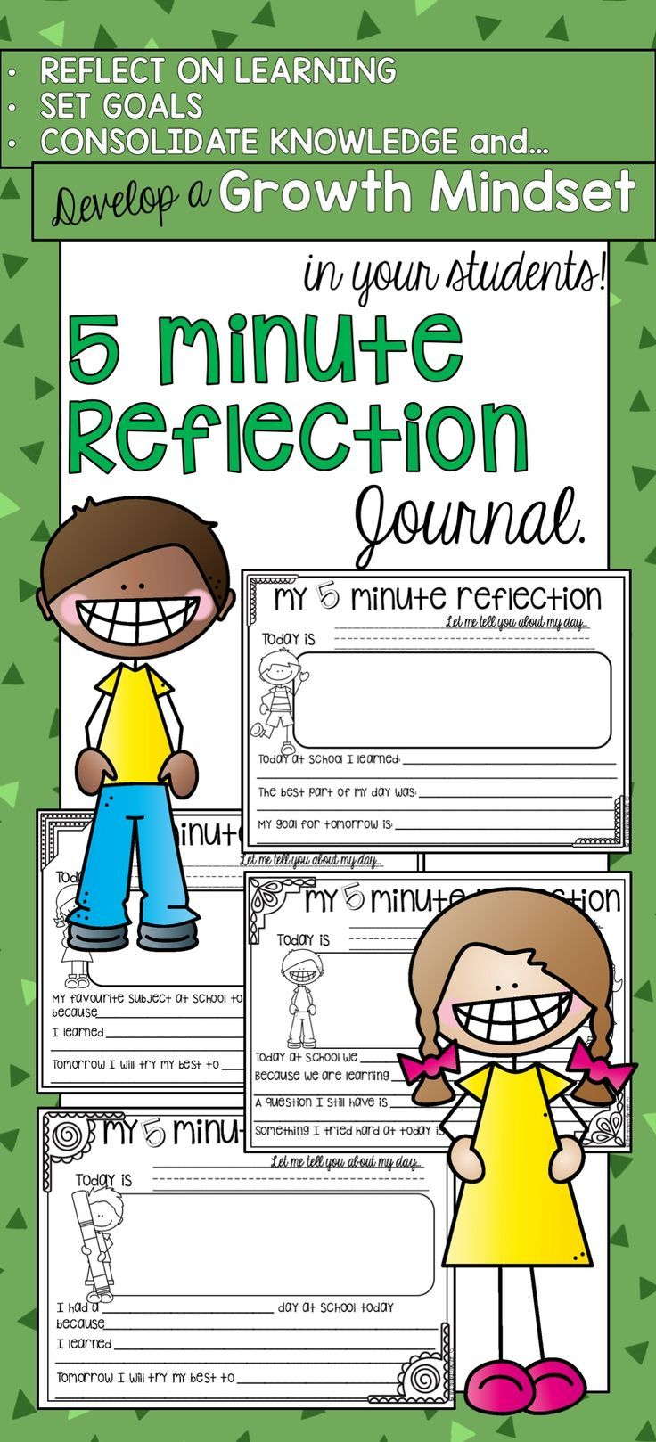 reflective journal example for student teachers