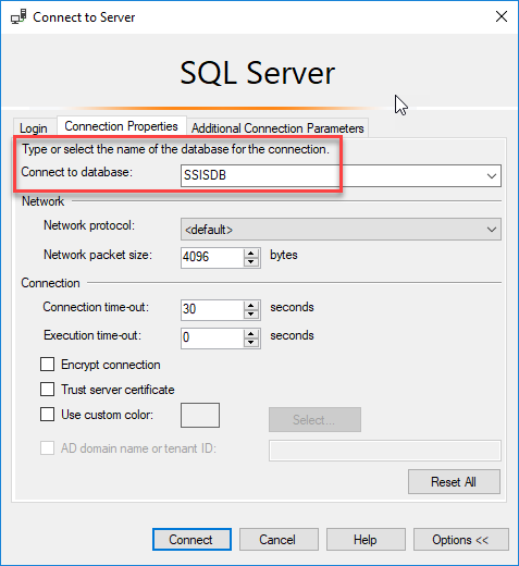 example ms sql server and dbase