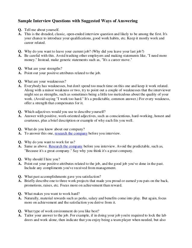 tell me about yourself interview question example