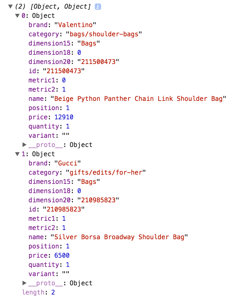 javascript object to json example