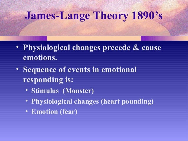 cannon bard theory of emotion example