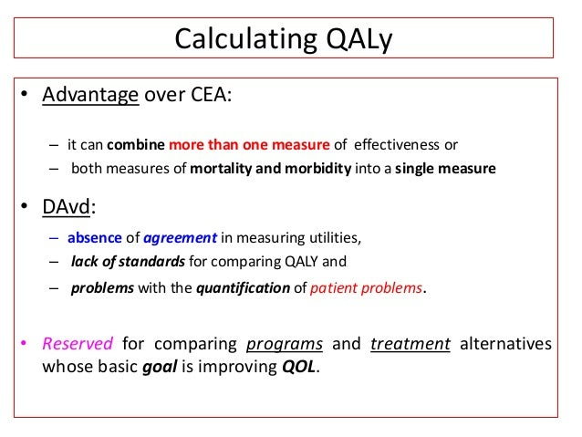 cost utility analysis example in healthcare