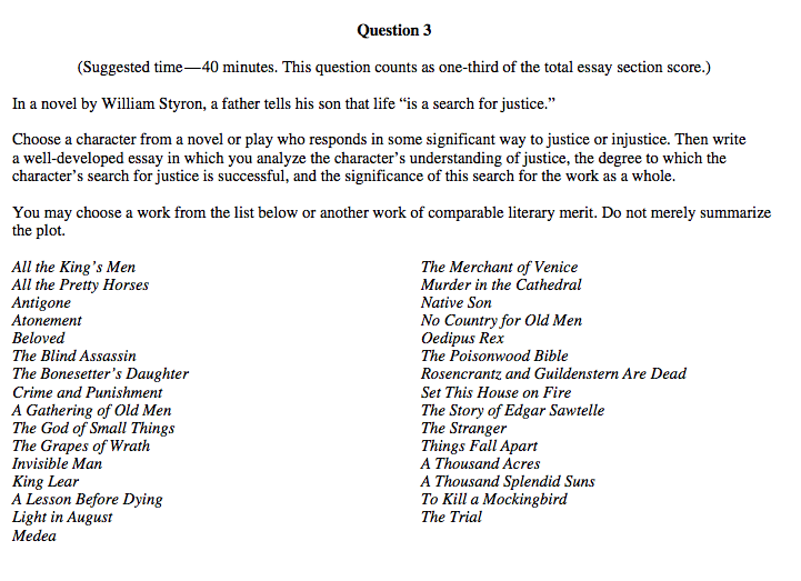 synthesis essay ap english example