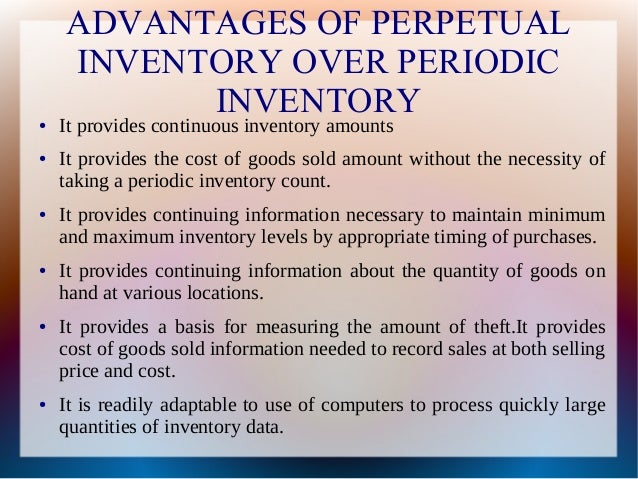 periodic inventory system general entry example