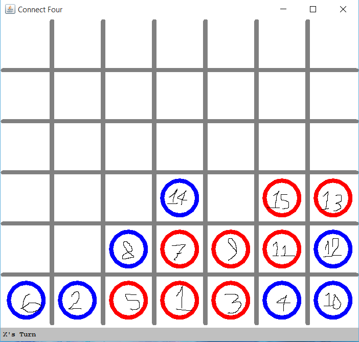 connect four java code example