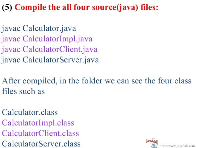 interface in java with example program