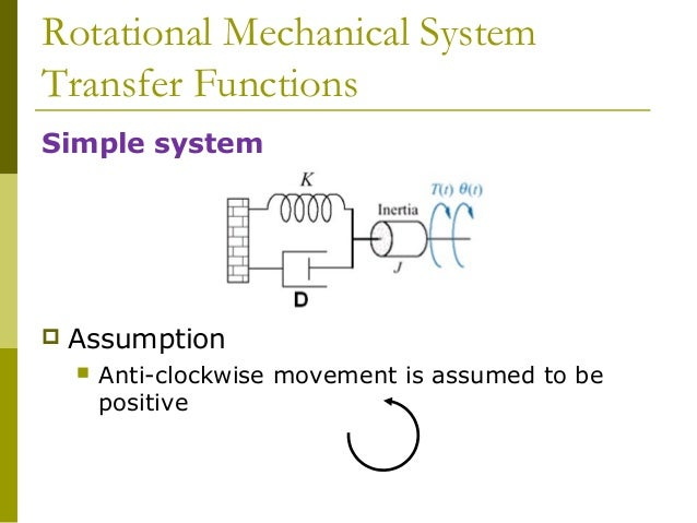 example of an energy transfer system