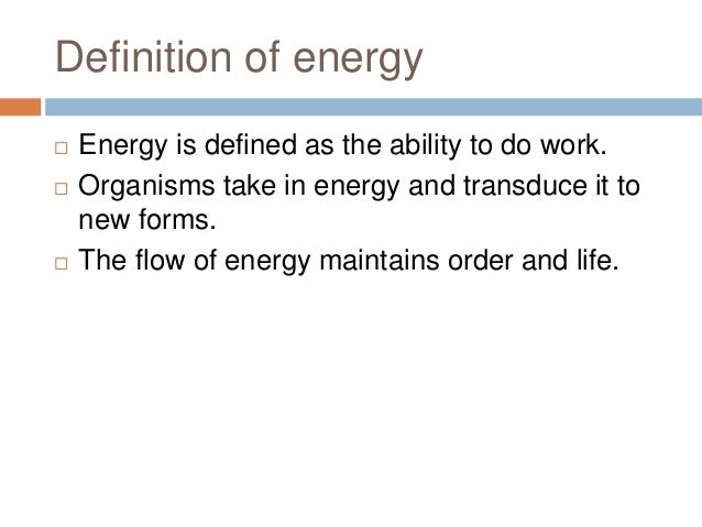 example of entropy in biology