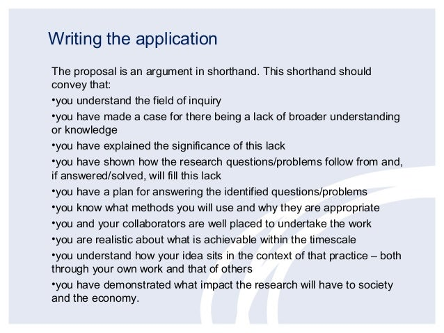 example of essays about funding
