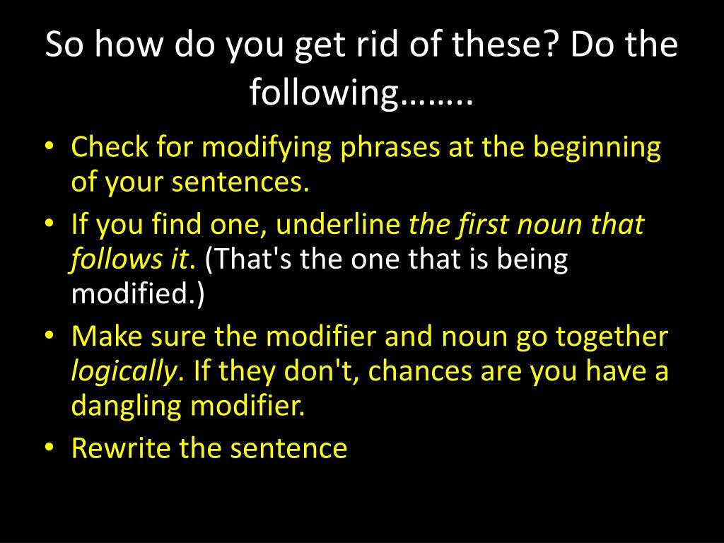 example of noun phrase modifier