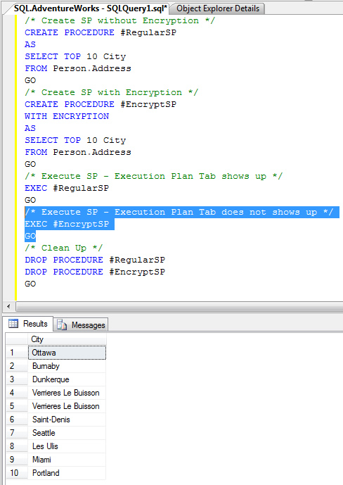 execution plan in sql server with example