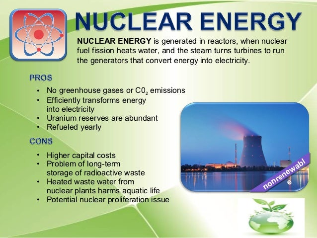 what is an example of nuclear energy