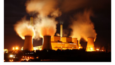 is coal smoke an example of a climate change