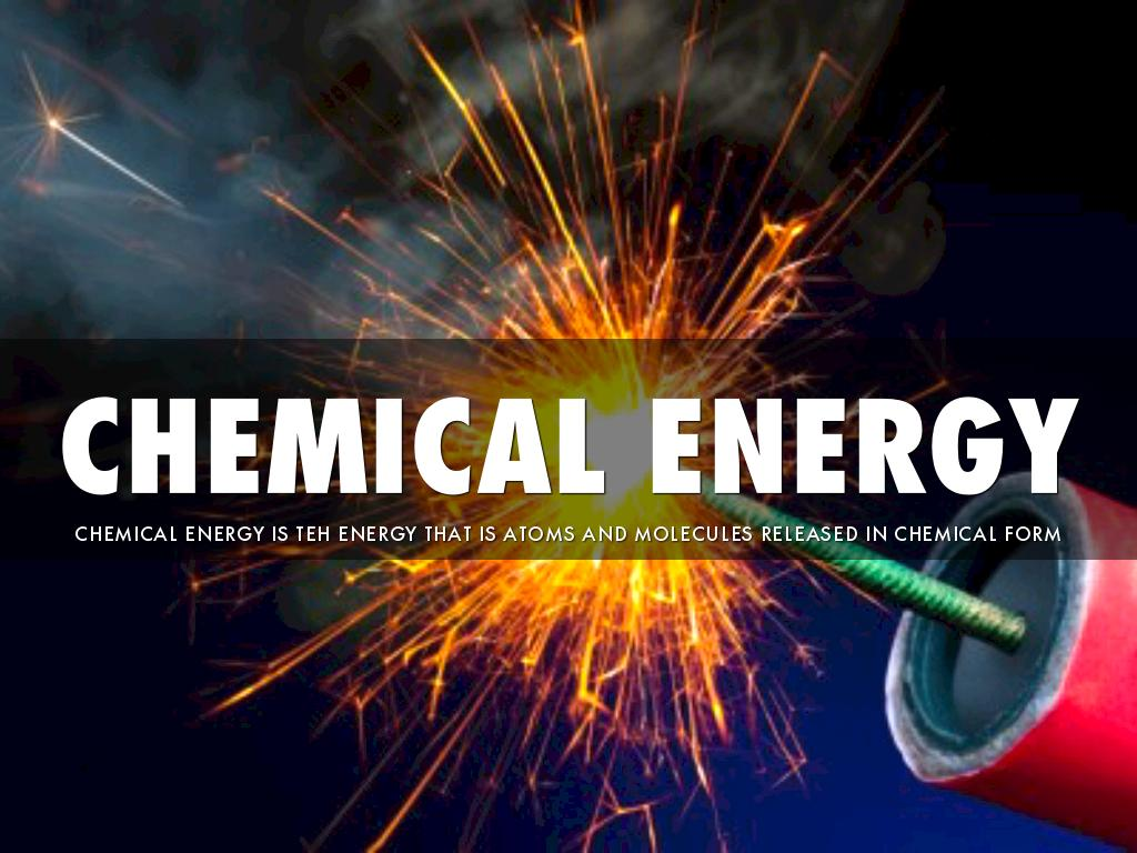is fire an example of chemical energy
