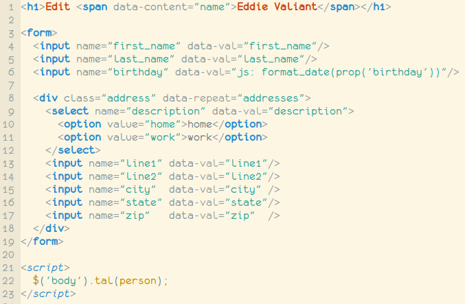 live function in jquery with example