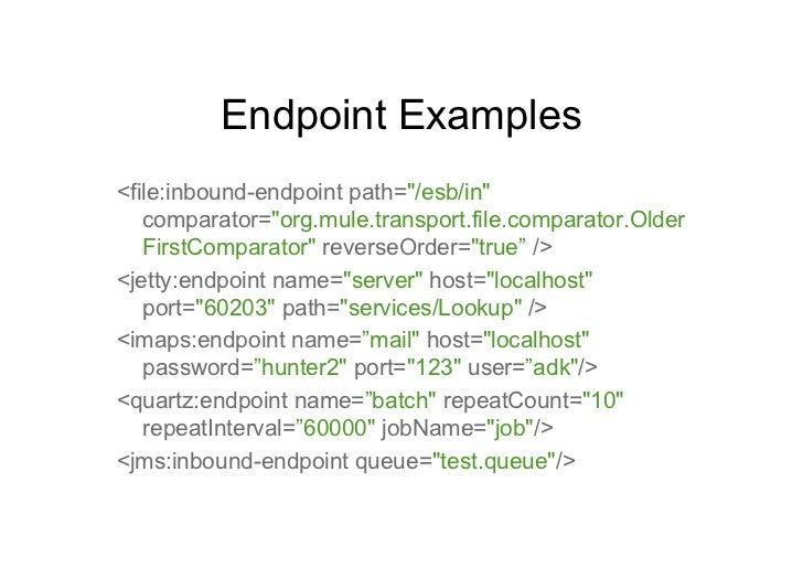 mule jms outbound endpoint example