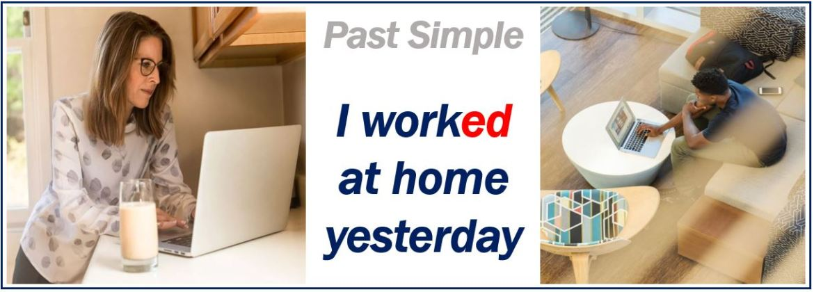 simple past definition and example