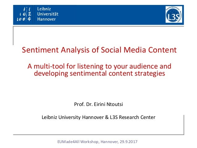 social media content analysis example