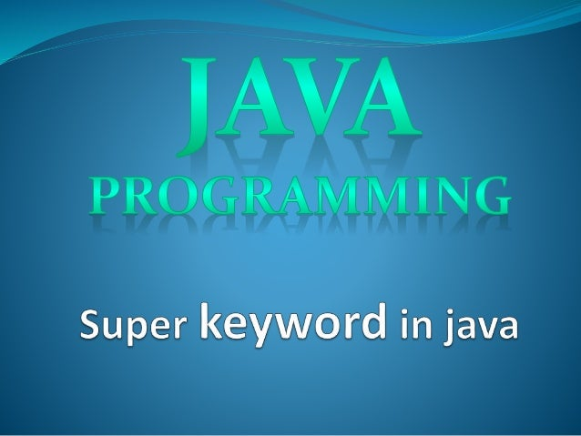 this keyword in java with example
