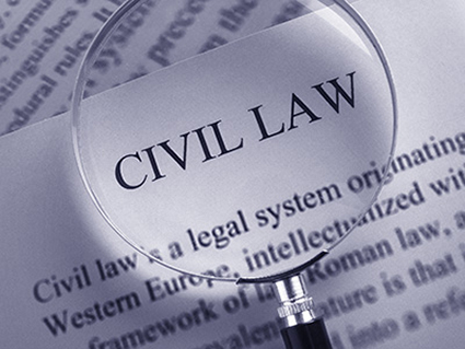 what is an example of a civil case