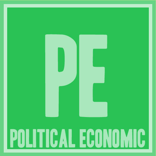 what is an example of political economy
