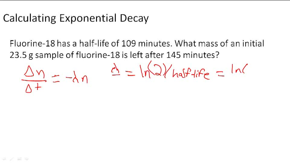 what is an example of radioactive decay